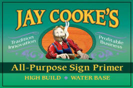 Jay Cooke's All-Purpose Sign Primer label